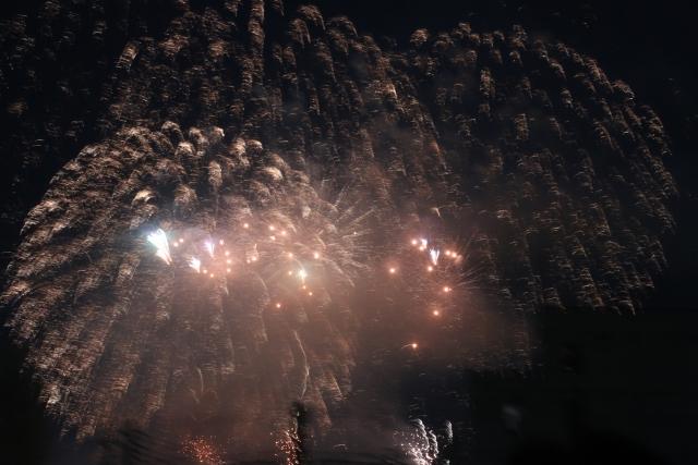 秩父夜祭花火