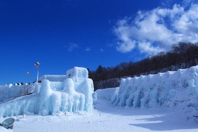 湖 濤 支笏 まつり 氷